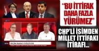 CHP'li Aytuğ Atıcı'dan Millet İttifakı itirafı: İdeolojik ayrılık var neden bozulmasın