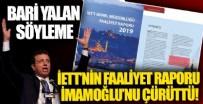 İBB Başkanı Ekrem İmamoğlu'nun '9-10 yıldır filo yenilenmedi' yalanı İETT'nin faaliyet raporuyla ortaya çıktı