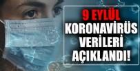Koronavirüs tablosu son dakika açıklanıyor! 9 Eylül Sağlık Bakanlığı korona tablosu ile Türkiye'de vaka ve vefat sayısı kaç oldu?